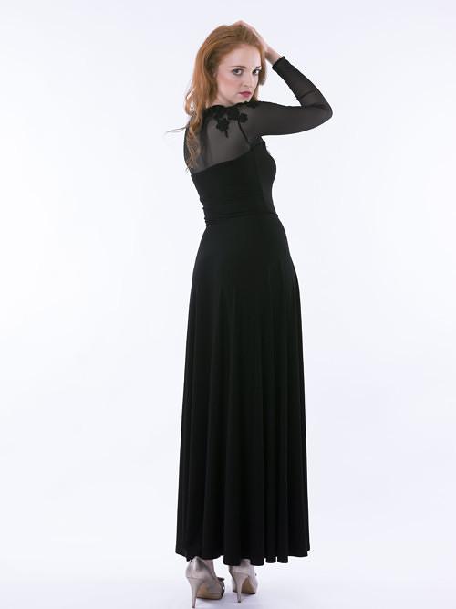 Šaty s krajkou dlouhé od MAYDA fashion 446c8d6853