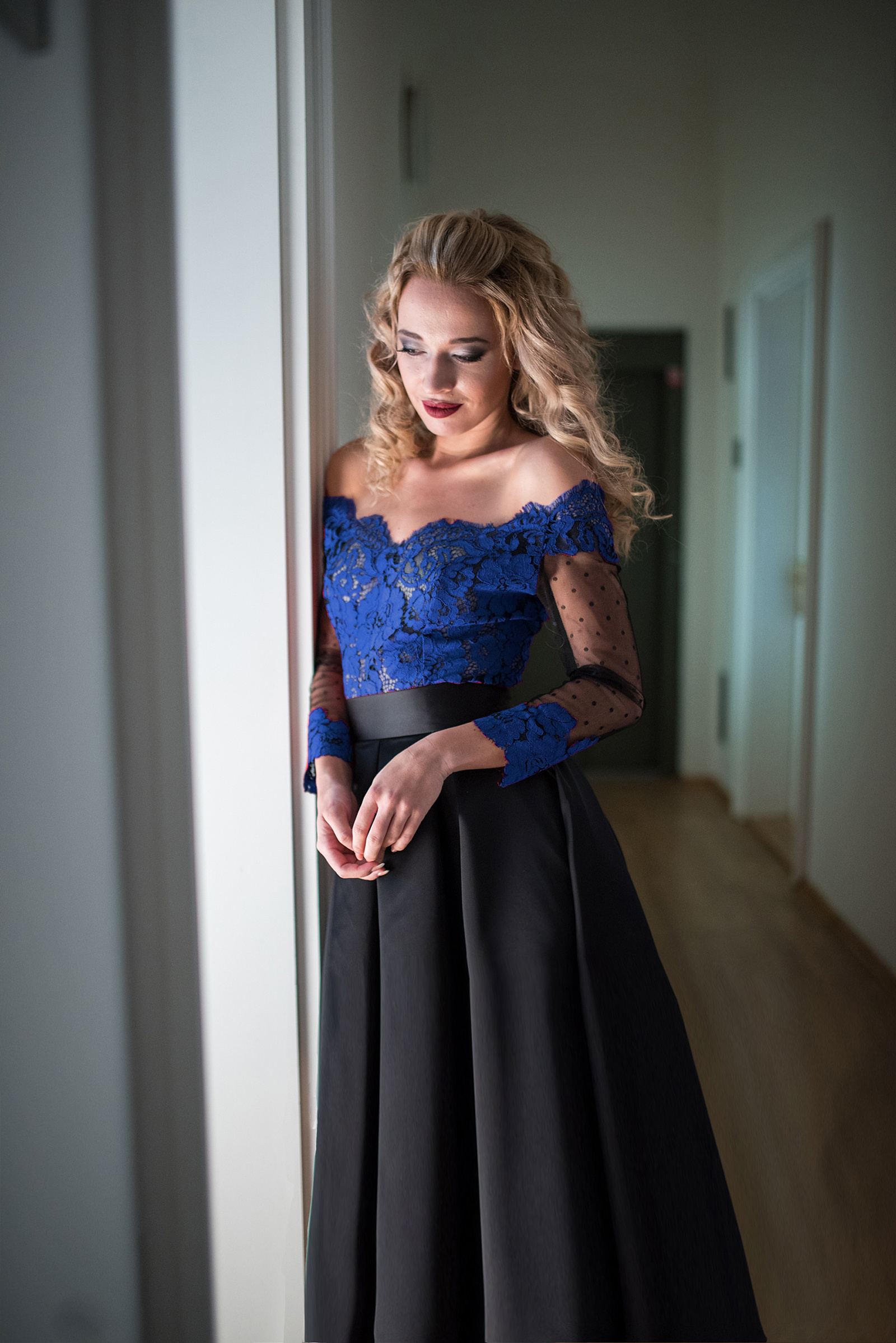 Saténová sukňa staro ružová od Lally chic 61deea884f