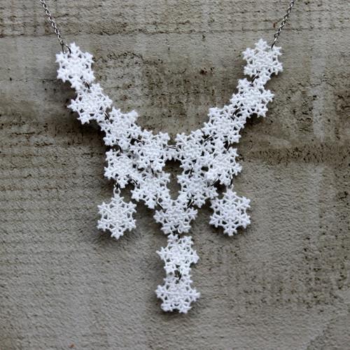 Náhrdelník - prostě sněží