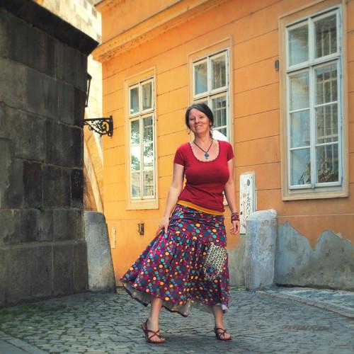 Gaudí...dlouhá sukně M/L