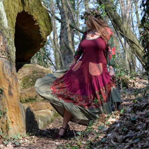 Tančím s lesními skřítky - MAXI MAXIŠATY NA MÍRU