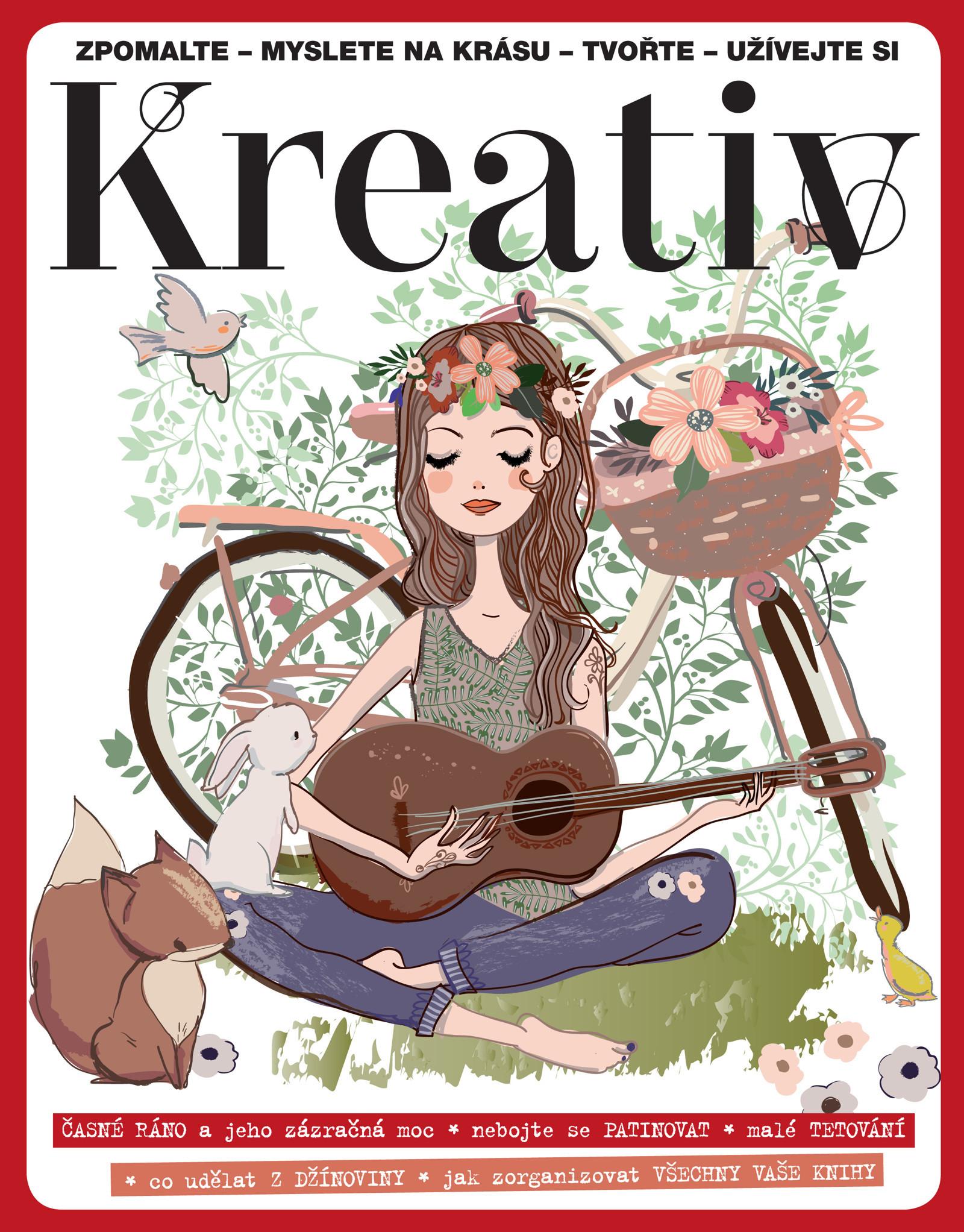 Kreativ číslo 5 2018   Zboží prodejce časopis Kreativ  4085f9b97e