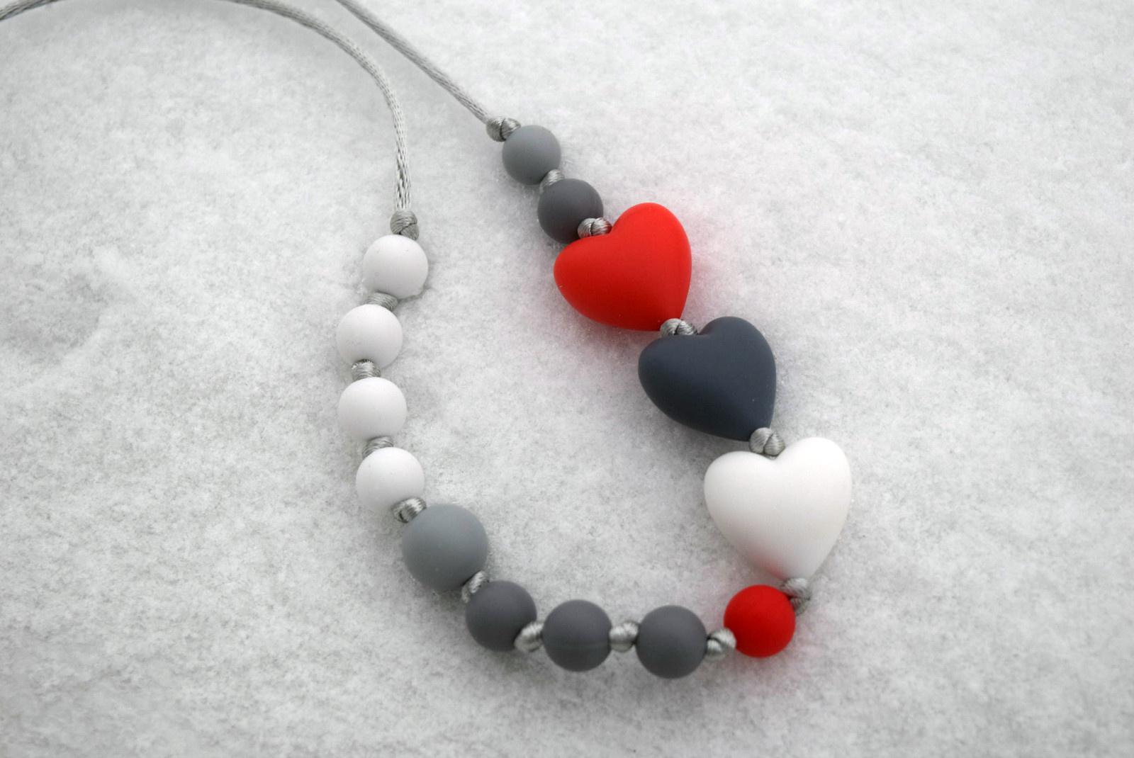 Srdce na sněhu - náhrdelník pro maminky   Zboží prodejce ... 4761e4c90c