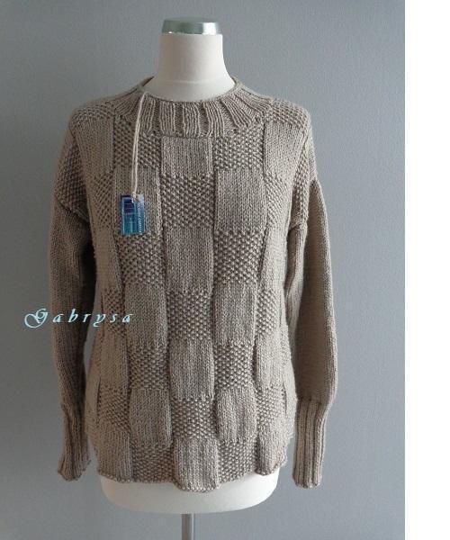 5207cd9cd8e Dámský pletený svetr - béžový ( 36 38 )   Zboží prodejce Obchůdek ...