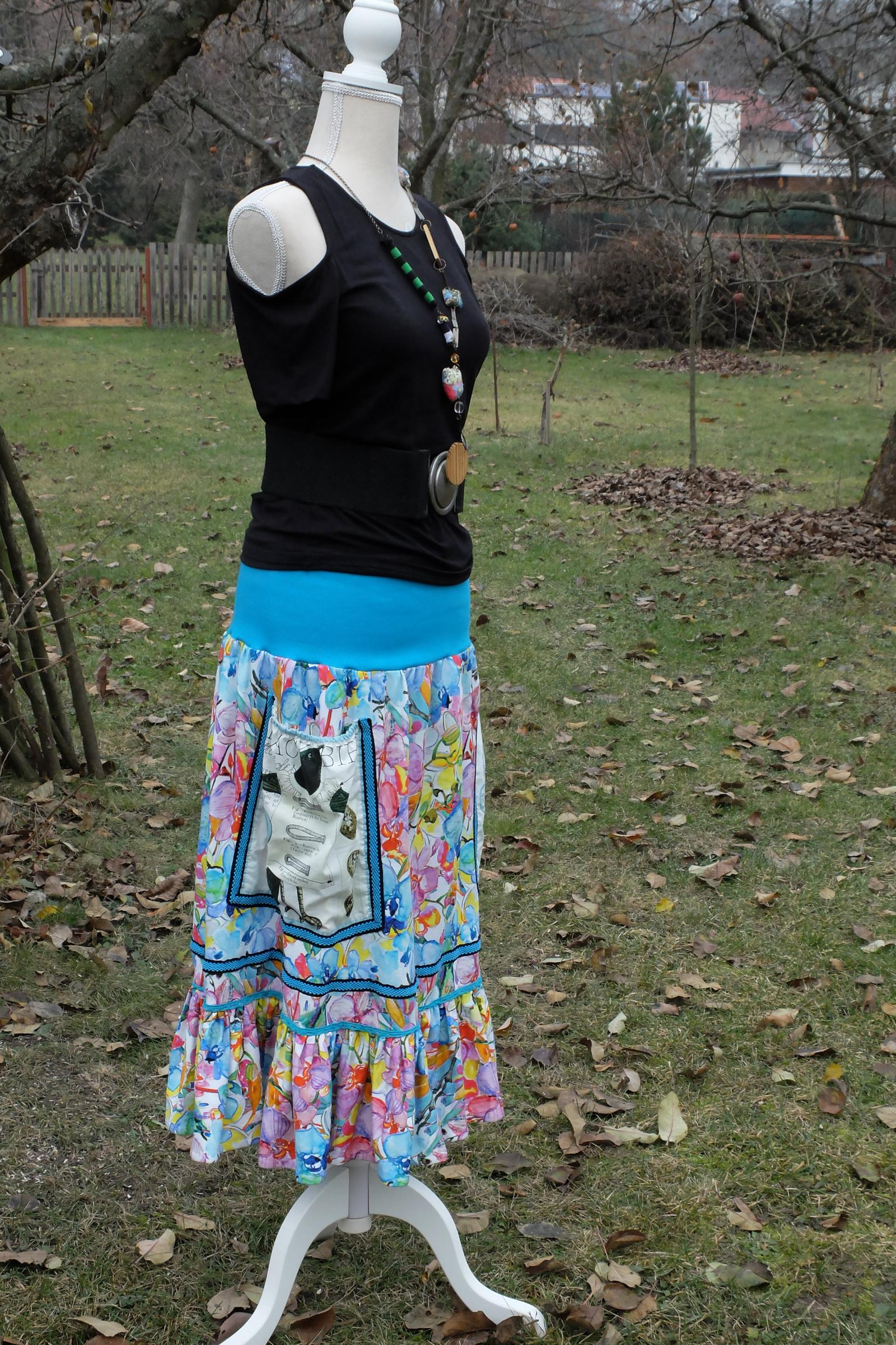 598282915b9 crazy... sukně s kapsami   Zboží prodejce iris-la