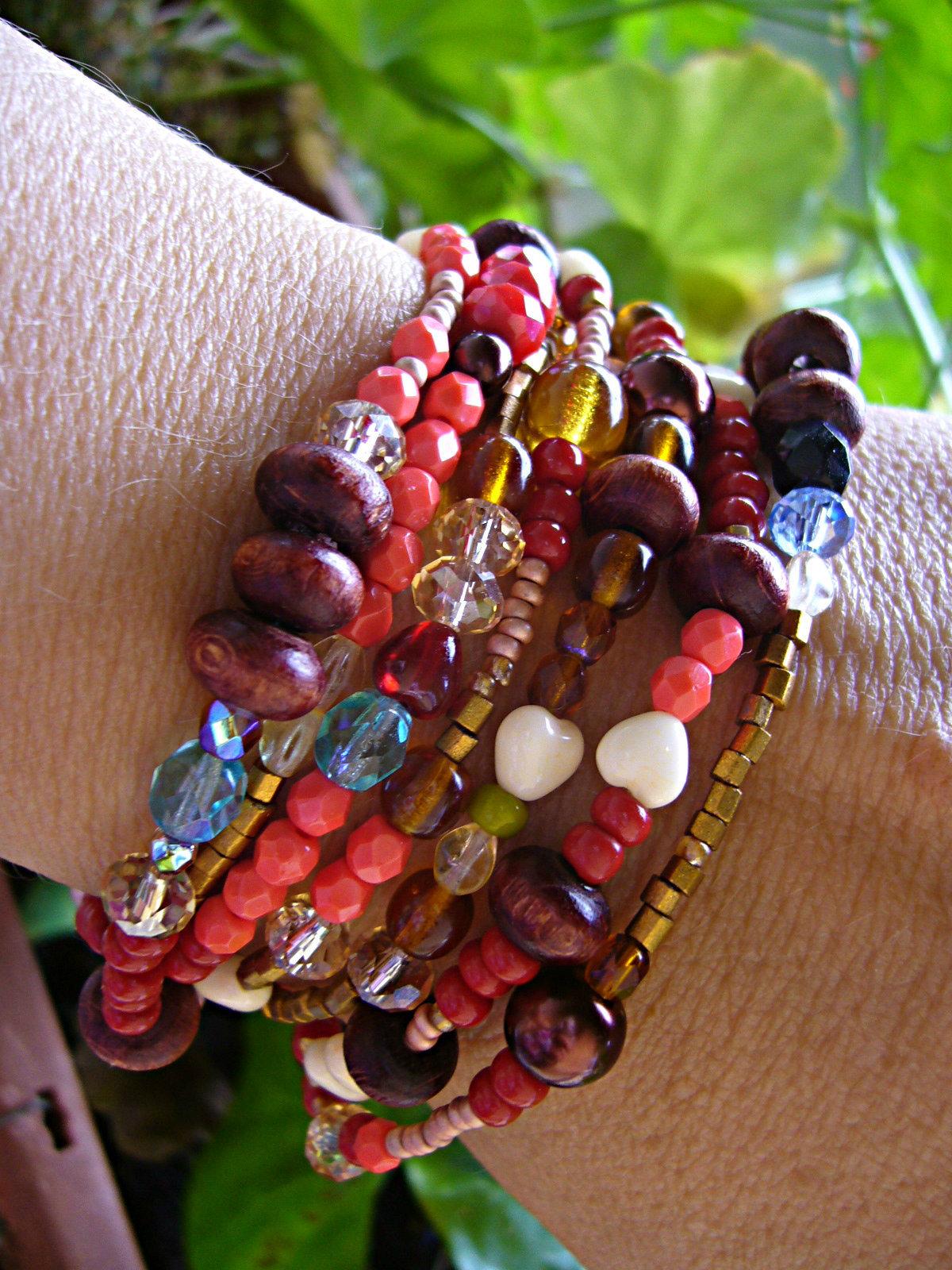 d2495076e2 Crazy - etno náhrdelník  náramek 2 v 1   Zboží prodejce verunka7 ...