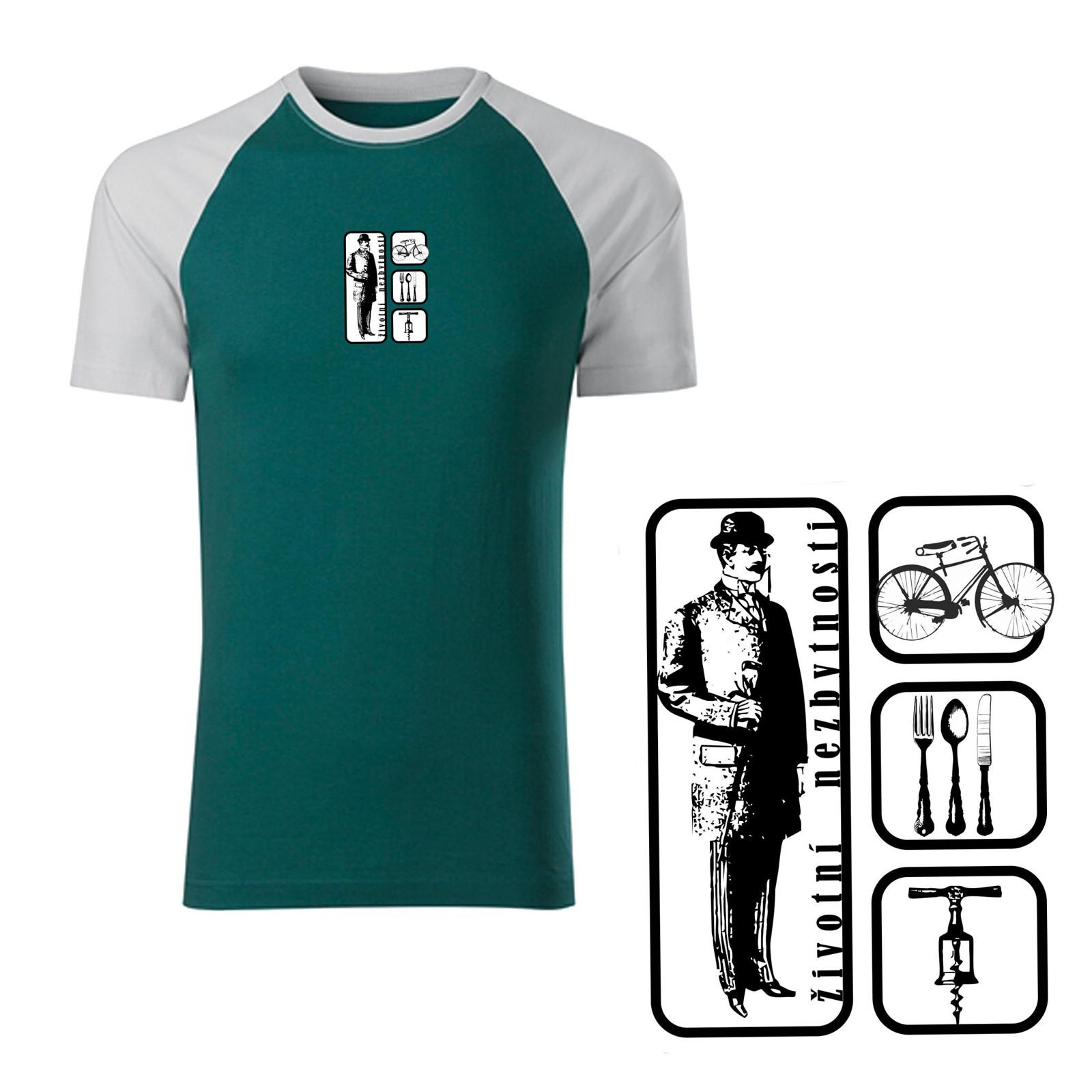 54df957a635c Životní nezbytnosti (pánské tričko XL)   Zboží prodejce kr.Ali.k ...