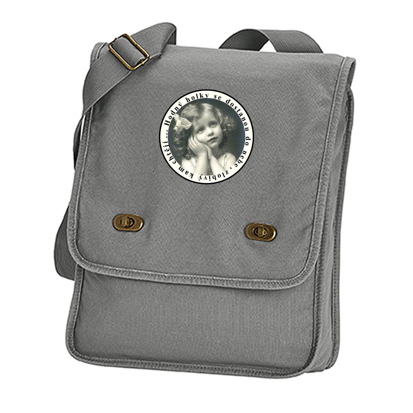 8832b4fc7 Hodný holky (plátěná taška přes rameno) / Zboží prodejce kr.Ali.k ...