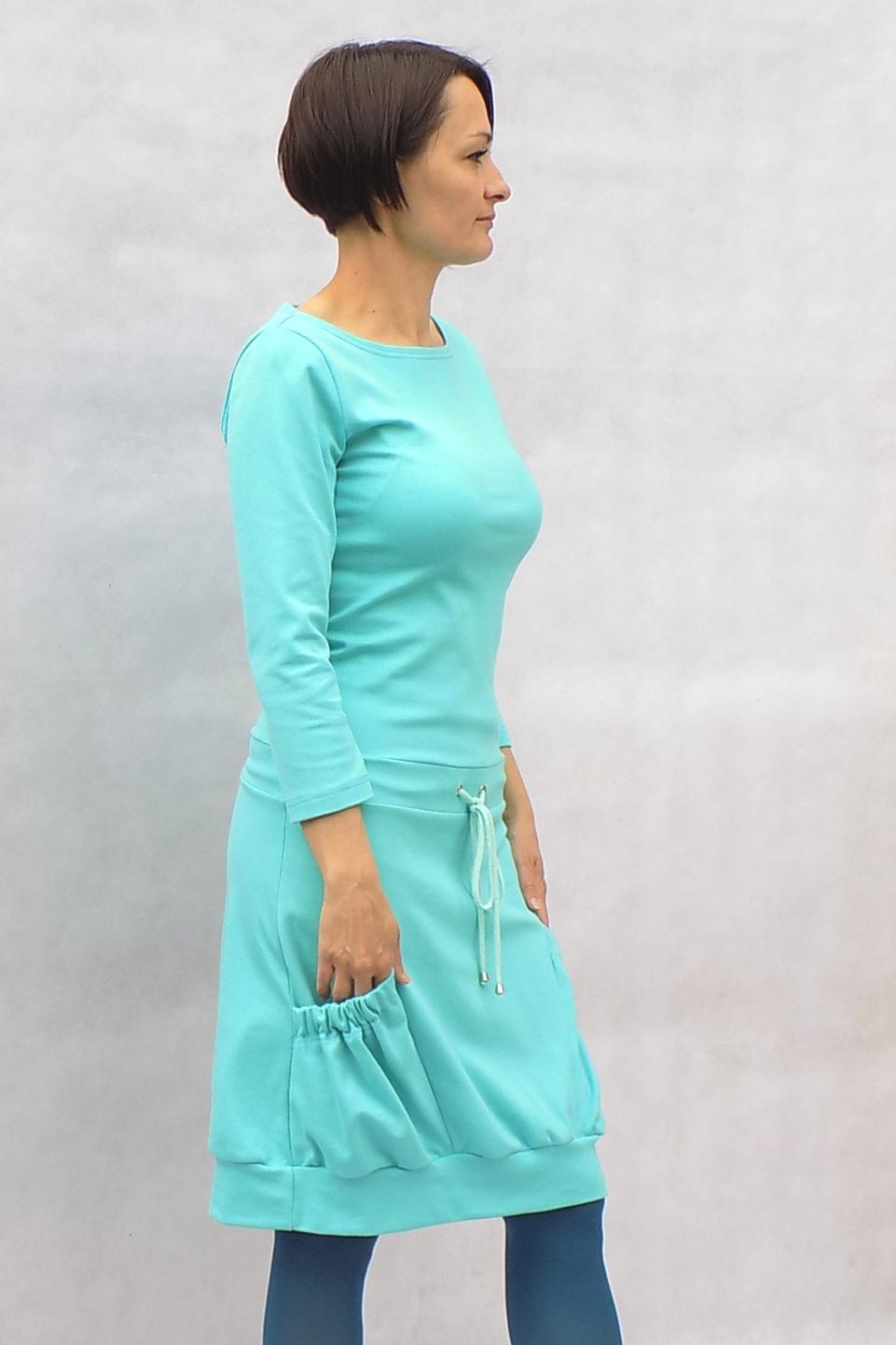 93d4f60f79 Mentolové šaty...vel. XL   Zboží prodejce LaPanika