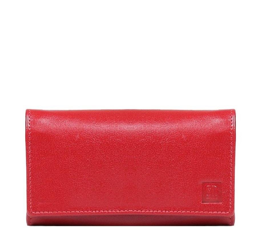 Dámská červená kožená peněženka   Zboží prodejce INDIVIDUALITY  3b0a2a2d0e