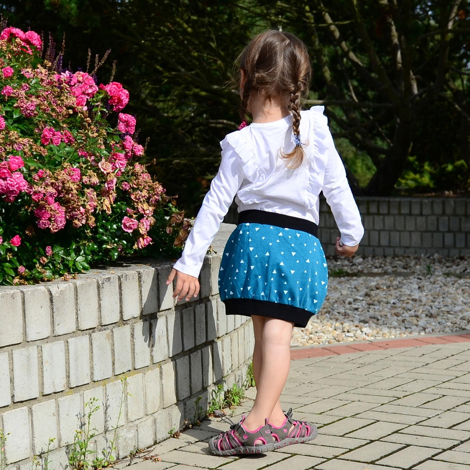 184bccd5b96 Dívčí sukně (biobavlna) - trojúhelníky / Zboží prodejce Feshanda ...