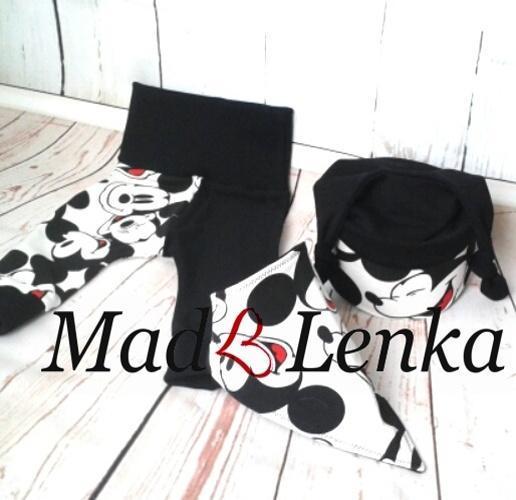 6e885886173 Šátek na krk Black Mickey   Zboží prodejce Mad-e-Lenka