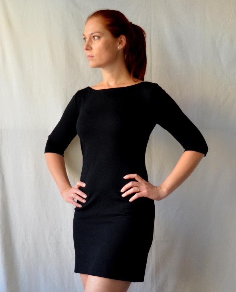Jednoduché úpletové šaty - i jiné barvy   Zboží prodejce Petrushe ... 809e8318295