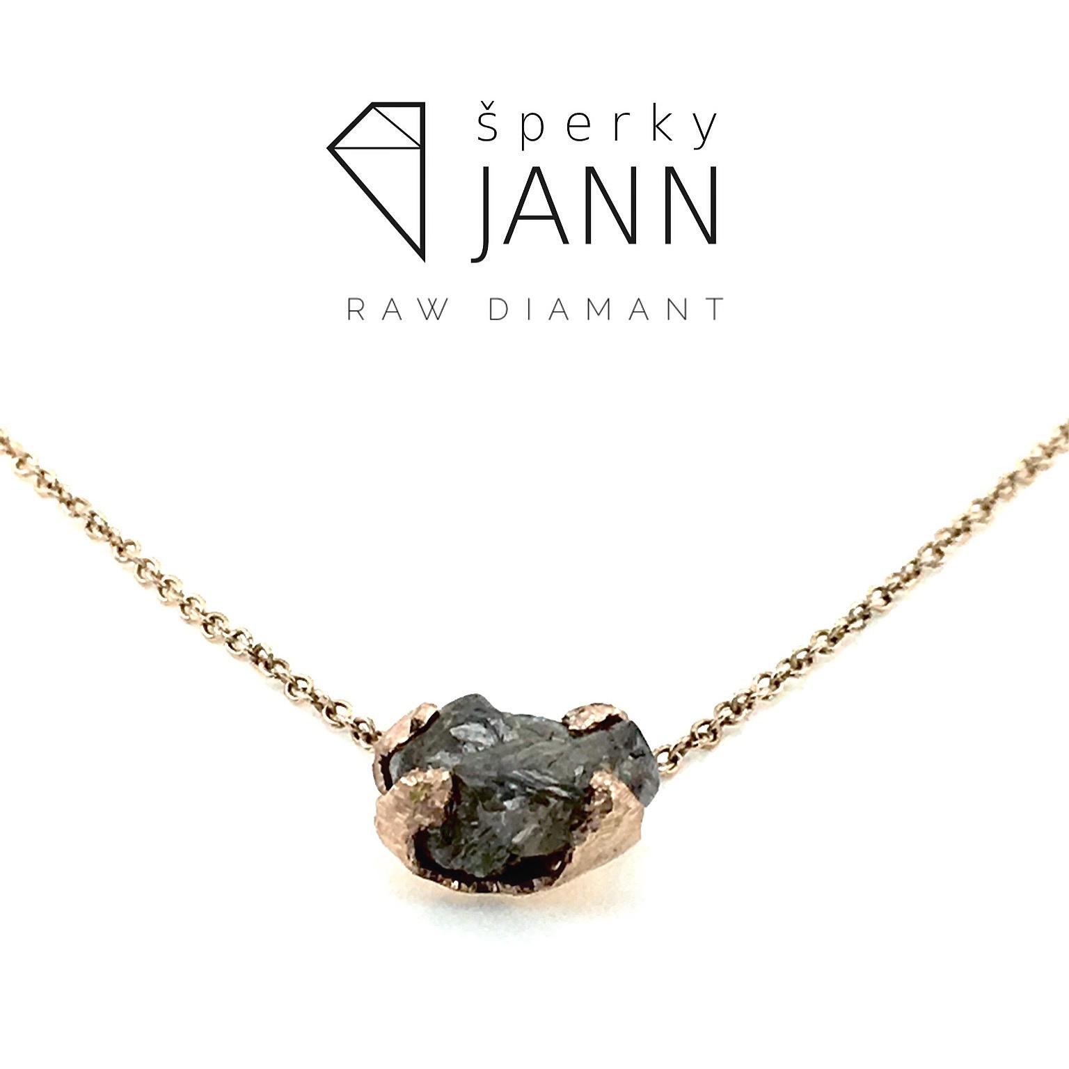 a15fa4e5b Náhrdelník Raw Diamant / Zboží prodejce ŠperkyJann   Fler.cz