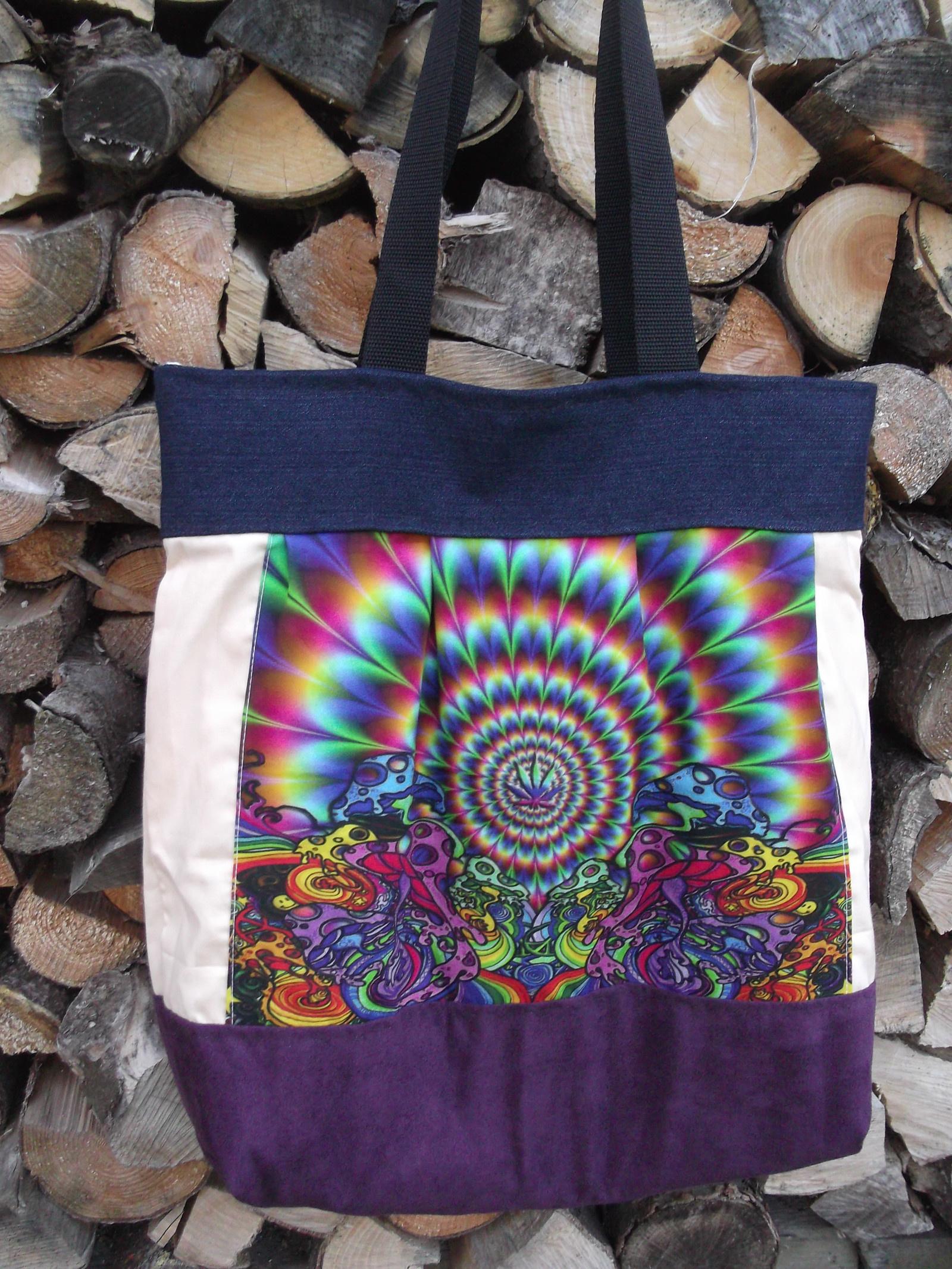 Taška (kabelka) na nákupy bez igelitek   Zboží prodejce galerie plná ... aeb79f1022b