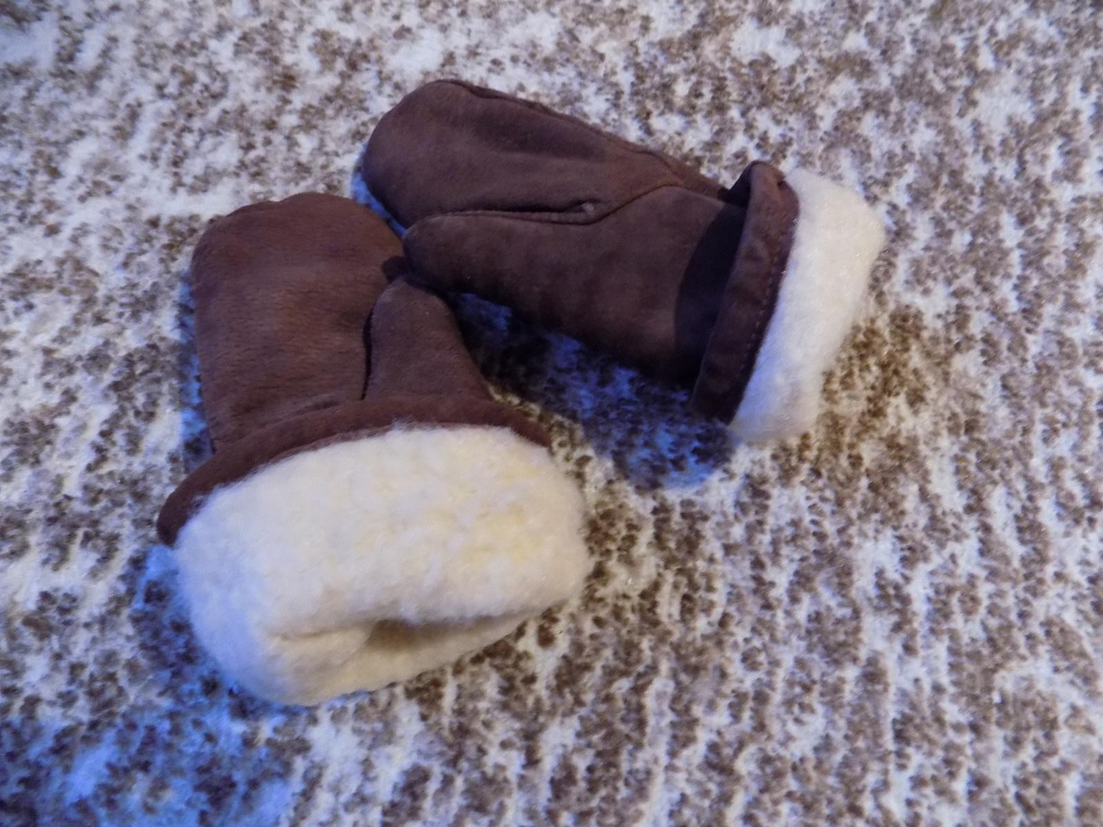 Kožené dětské palčáky   Zboží prodejce Babičko povídej  ba519a77022