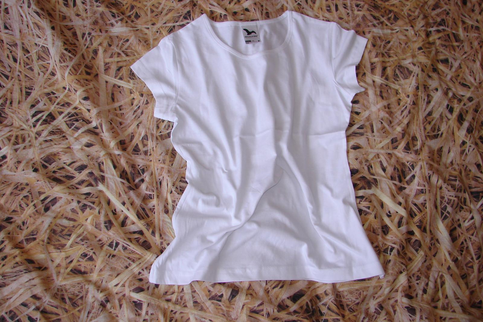 cad57813319 Dámské dívčí tričko Malfini Pure (vel. M)   Zboží prodejce LenuleKa ...