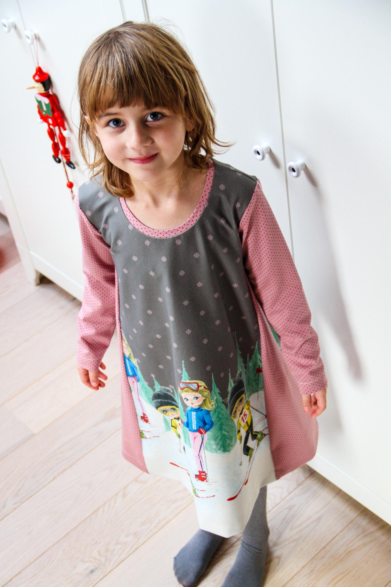 246f5132a86 Střih na dětské šaty WINTER JOY CLASSIC 80-164 (Velikost 80 - 122 -  CLASSIC)   Zboží prodejce Prošikulky