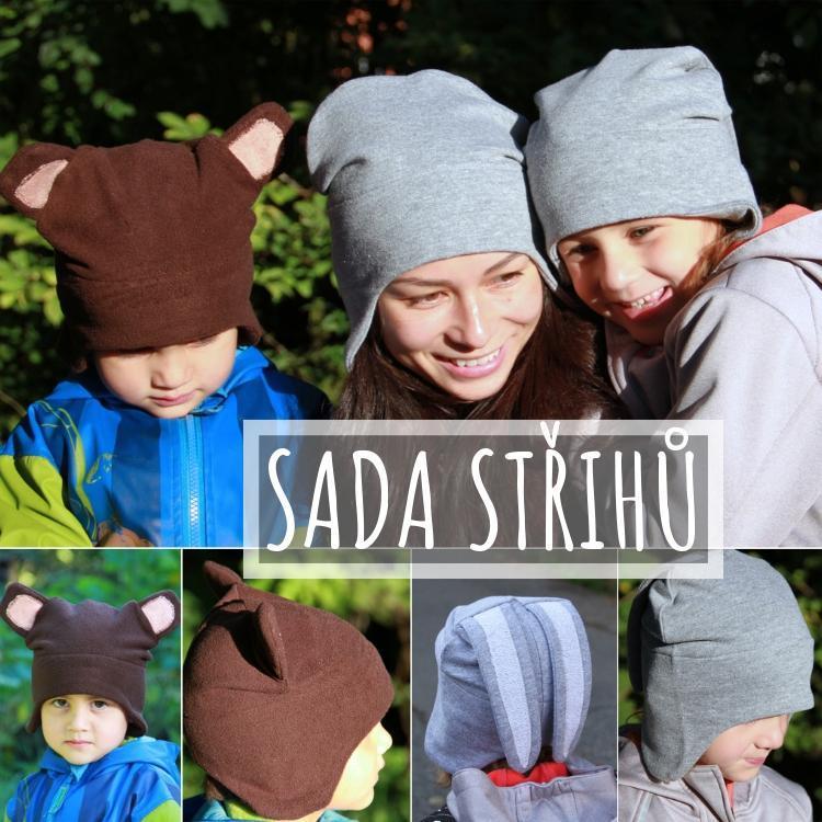 d723620a4a7 Střih  dětská a dámská čepice přes uši (od 1 roku)   Zboží prodejce ...