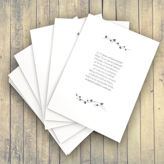 veršované přání k narozeninám Veršované přání   báseň na přání   různé události / Zboží prodejce  veršované přání k narozeninám