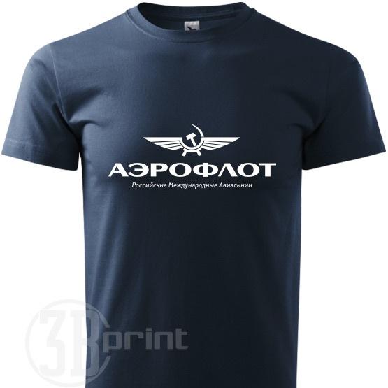 e257db1d397 Pánske tričko AEROFLOT   Zboží prodejce 3bprint