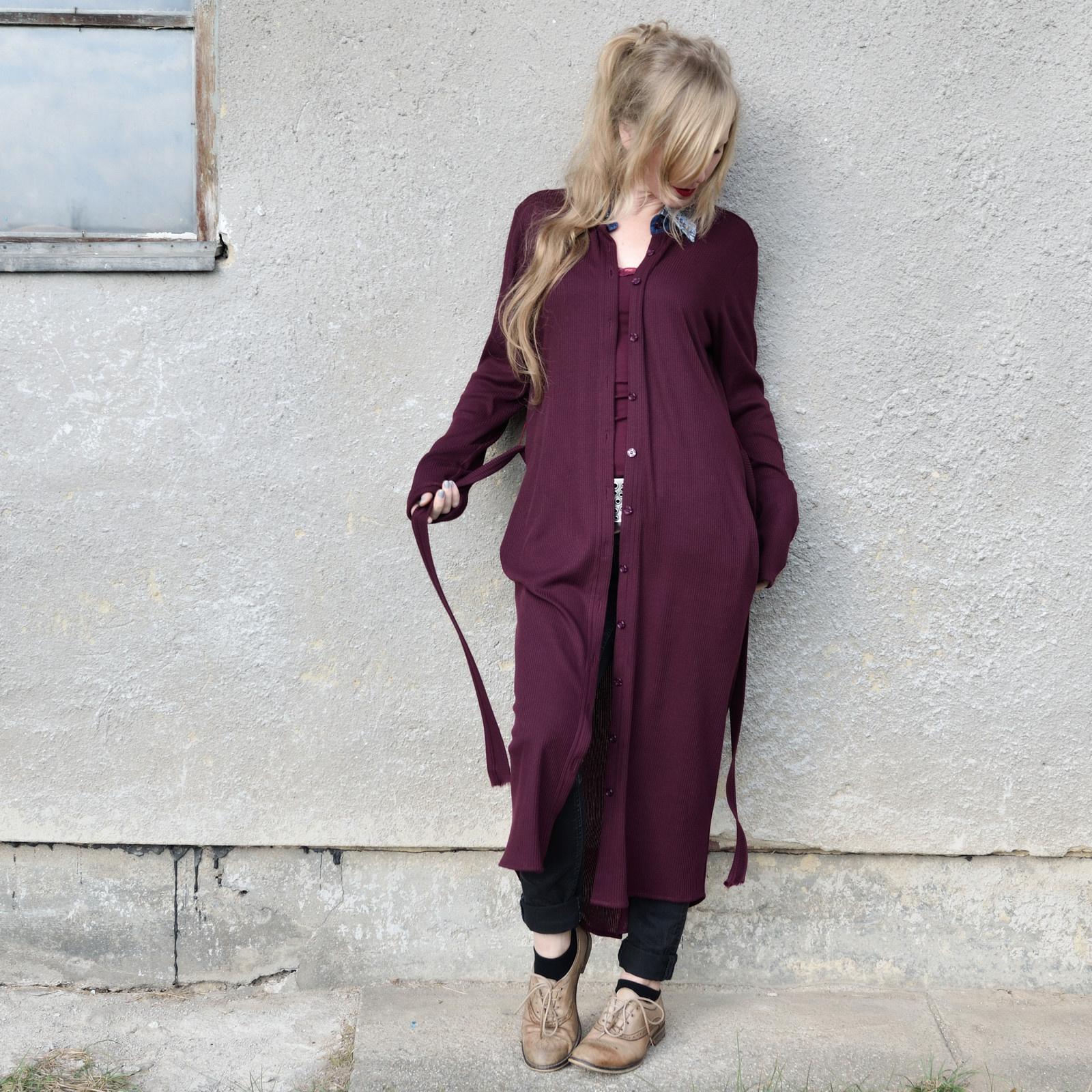Dress Coat - úpletové šaty nebo lehký kabátek   Zboží prodejce ... 0ac1ad4deb