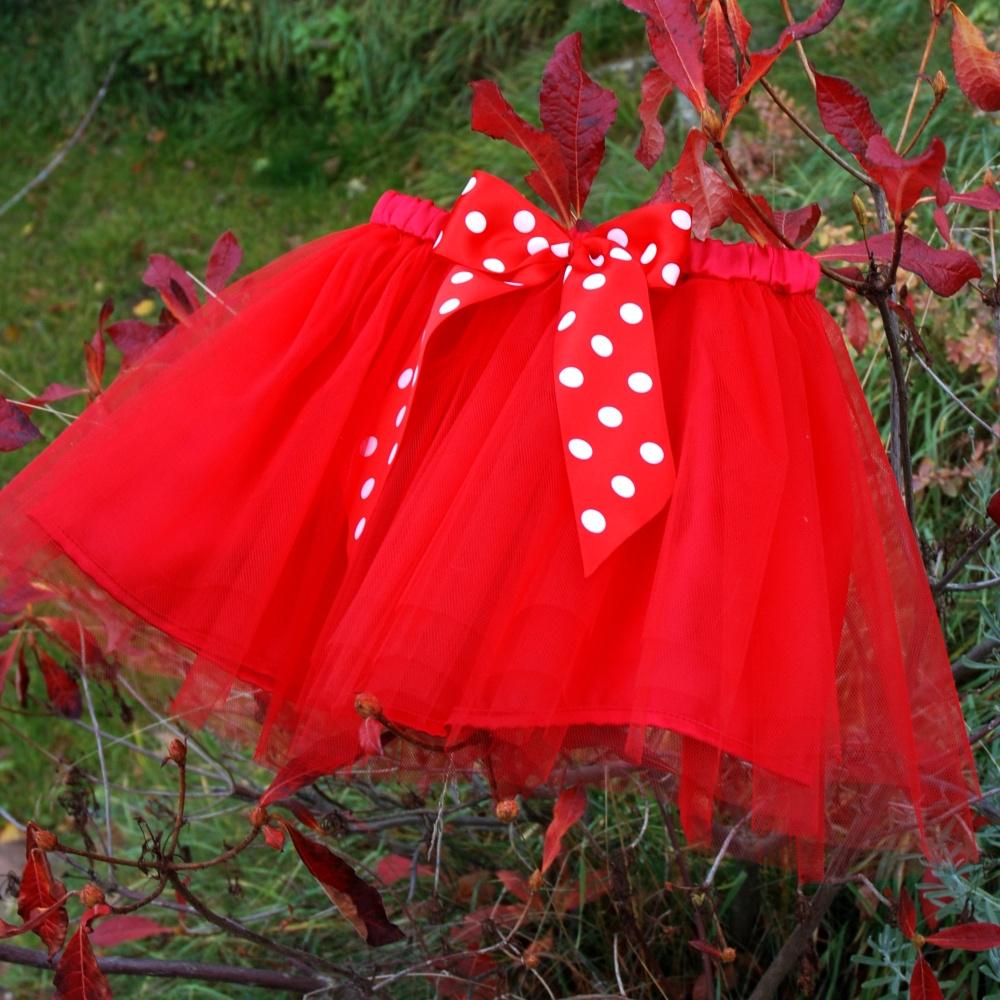 83636d09f3a Červená tylová sukně - dětská   Zboží prodejce Princezna Pampeliška ...