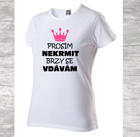 4b3f59505568 Tričko - Nekrmit