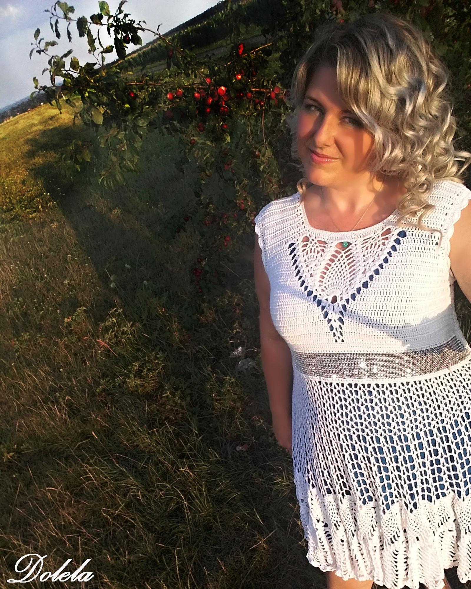 Háčkované šaty   SKLADEM   Zboží prodejce dolela  3fa69aa9a1
