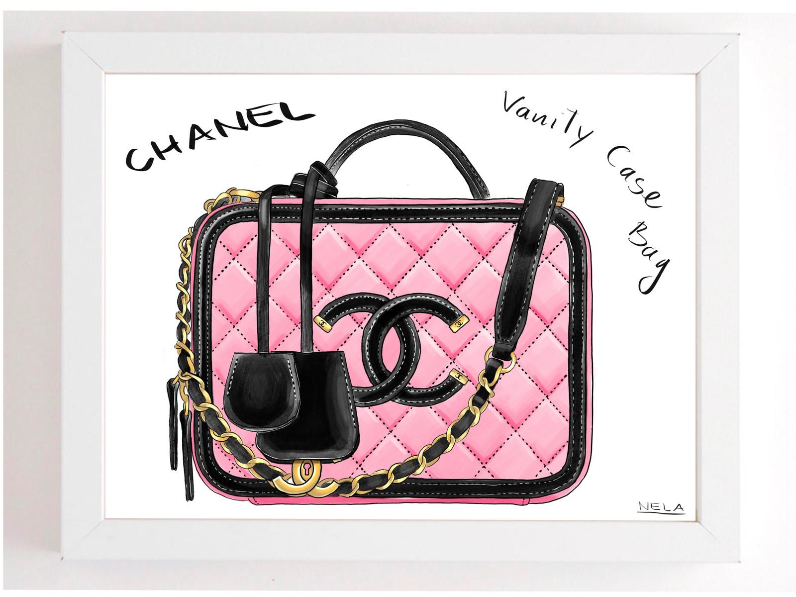 Obraz Kabelka Chanel Vanity Case Zboží Prodejce Nelala Flercz
