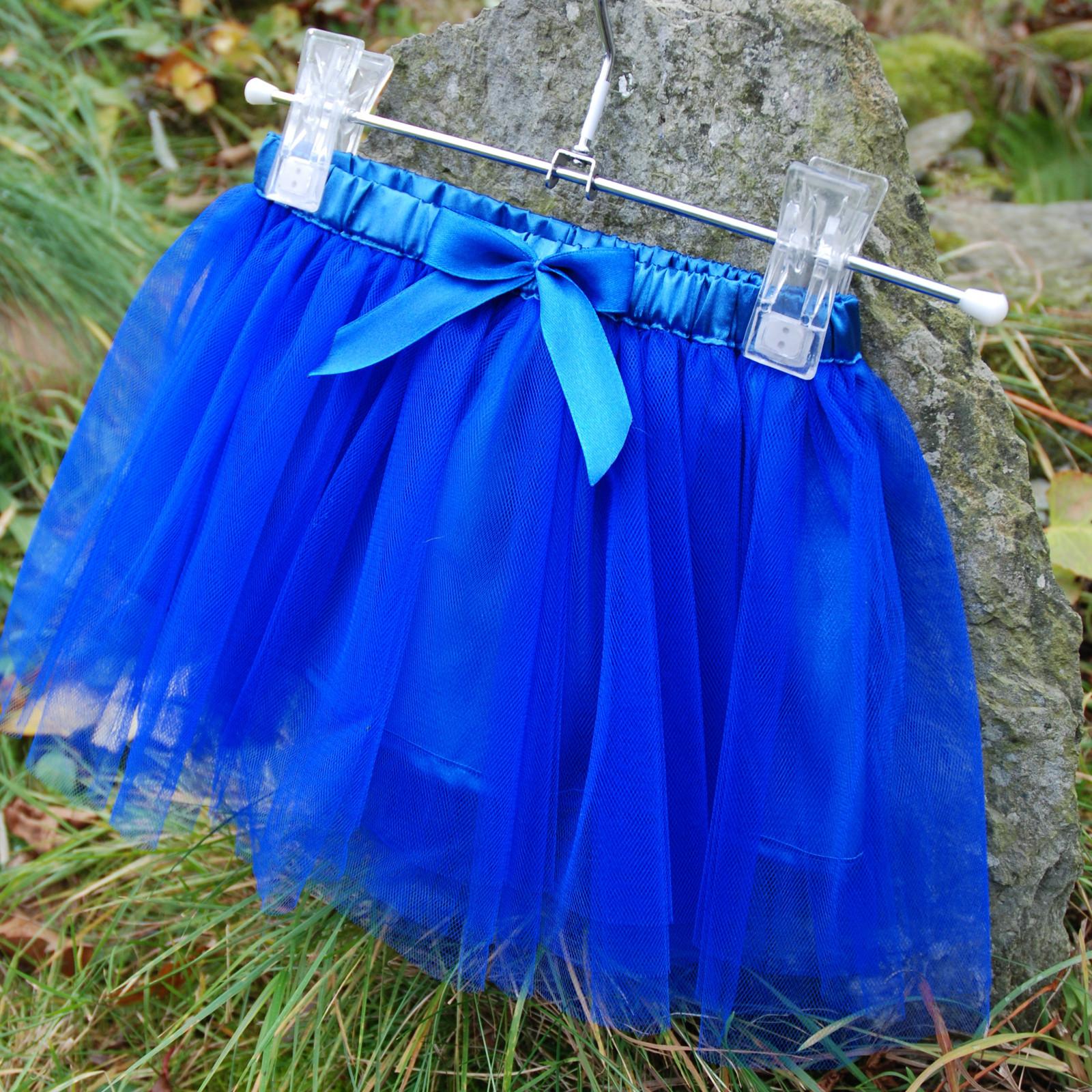 14f3a205b7c Královsky modrá dětská tylová sukně   Zboží prodejce Princezna ...