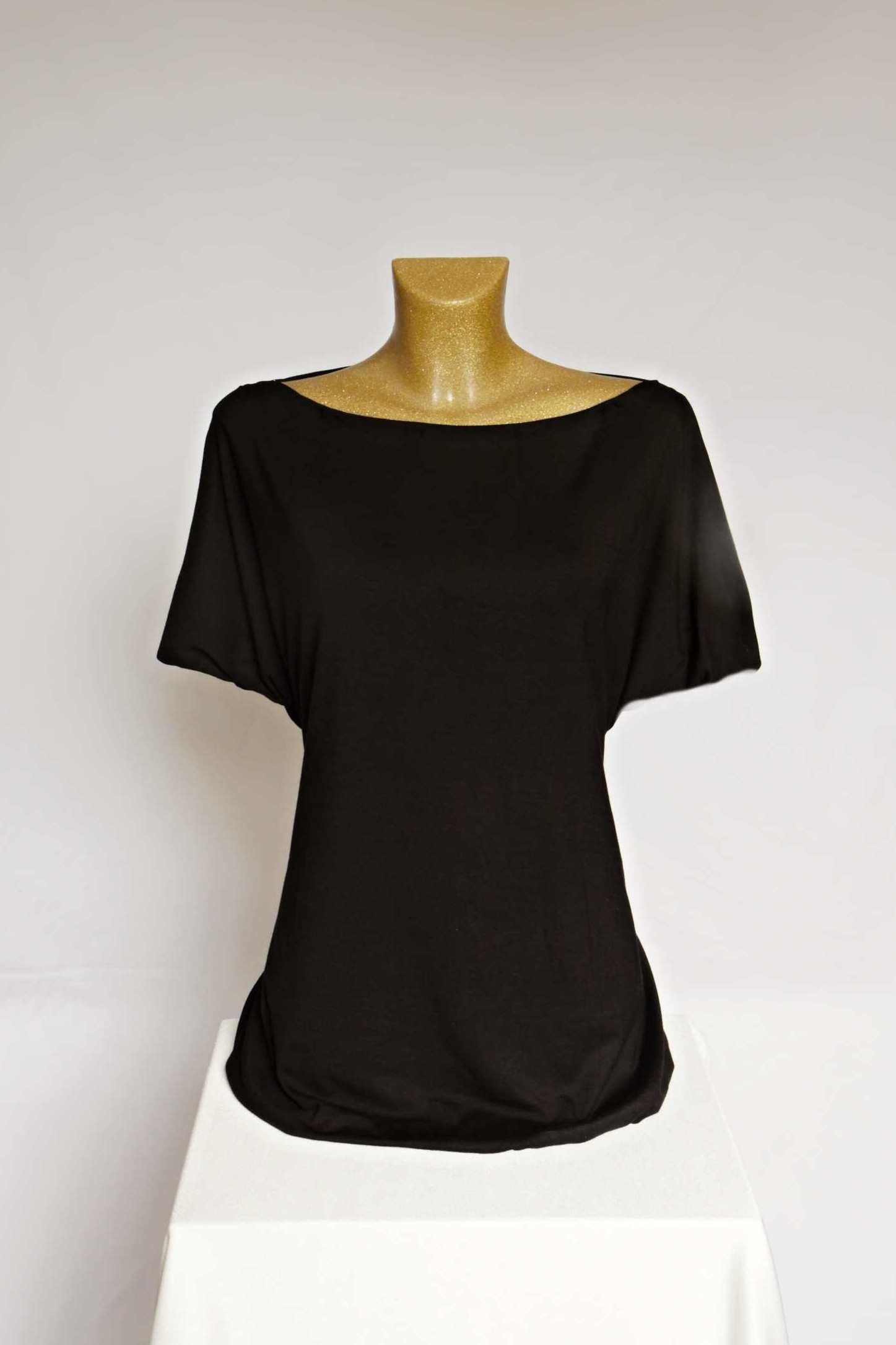8ad48dade841 Černé tričko