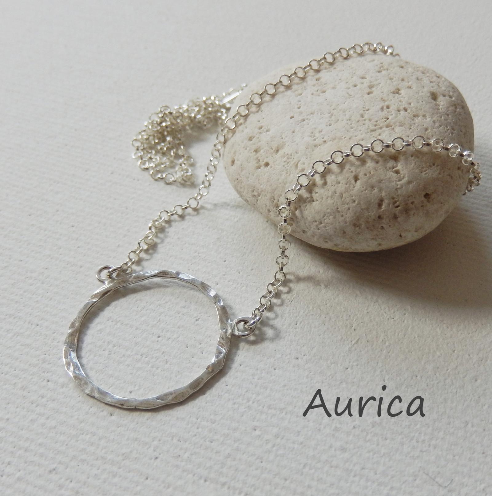 Stříbrné kolečko na řetízku Ag 925   Zboží prodejce Aurica  e4e927b3115