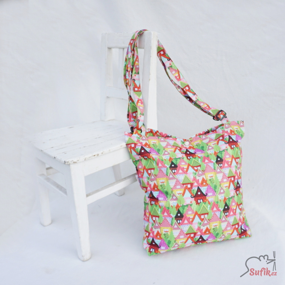 220890c3d Nákupní taška - skládací, nepromokavá na patentky / Zboží prodejce ...