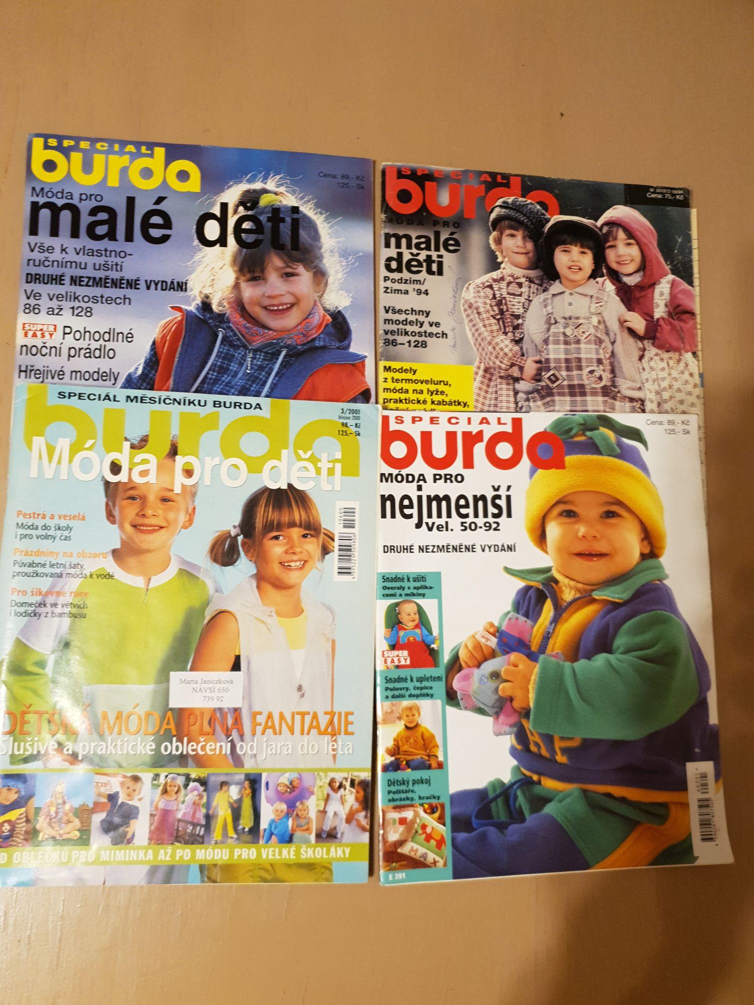 46ff8ce15 Burda speciál pro děti / Zboží prodejce Maya.J   Fler.cz