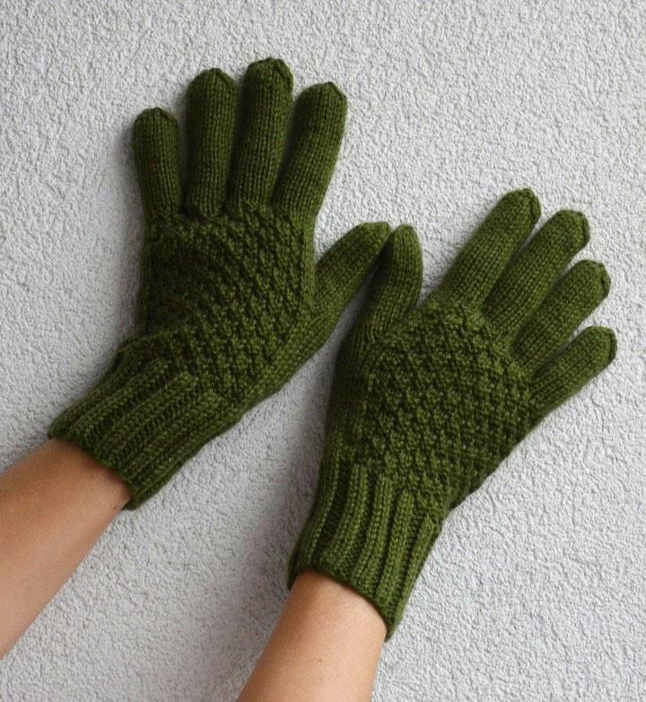 ab9539f9a4d Pletené rukavice