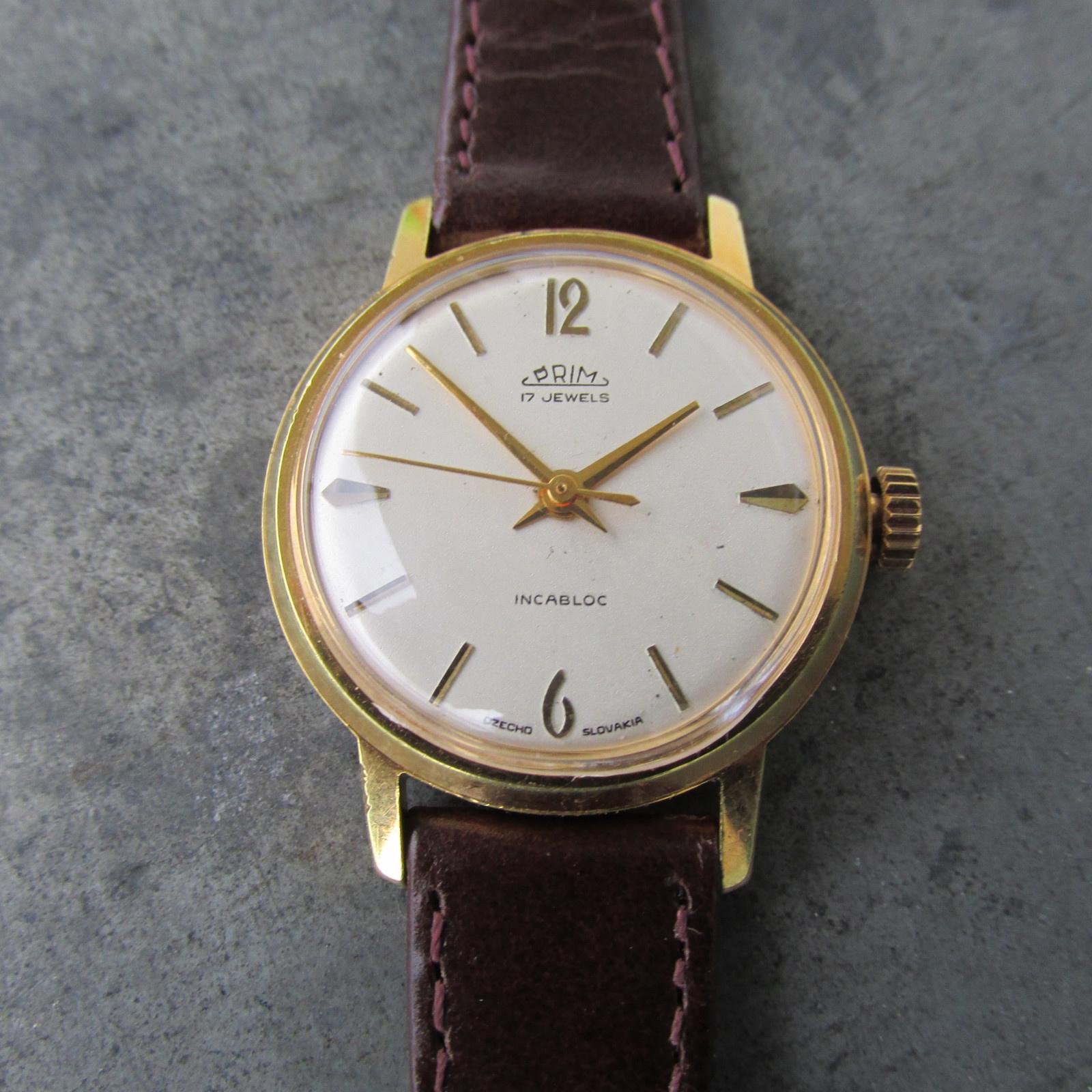 40487216e Dámské náramkové hodinky PRIM Incabloc z roku 1966 / Zboží prodejce ...