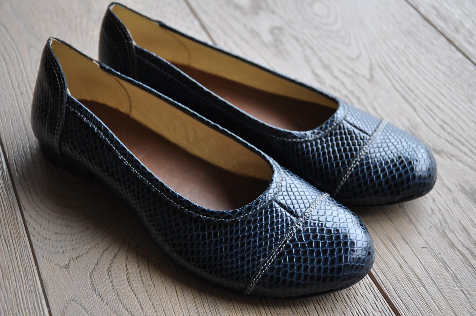 Balerínka tmavě modrá se vzorem / Zboží prodejce Lily hand