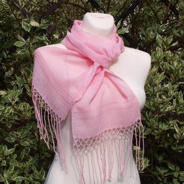 Ručně tkaná letní šála - pro slečny   Zboží prodejce krásný sen ... 9b636ff000