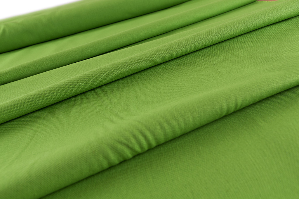 Zelená - jednobarevný kanafas 84df42ee5b5