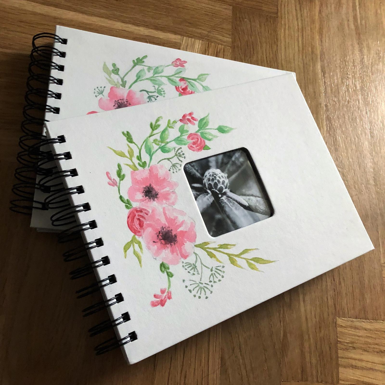 Malované album - svatební květy   Zboží prodejce Lipanda  5a243ac48c
