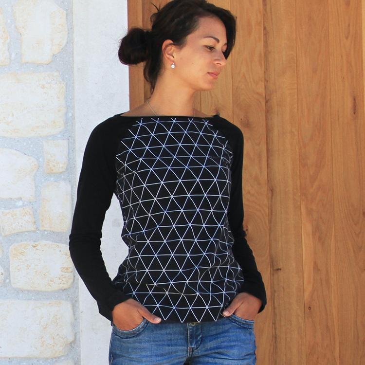 3d2501f9251 STŘIH na dámské tričko (velikosti 32 - 52)   Zboží prodejce ...