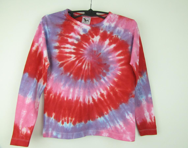 f120a17c9385 Dětské batikované tričko Růženka