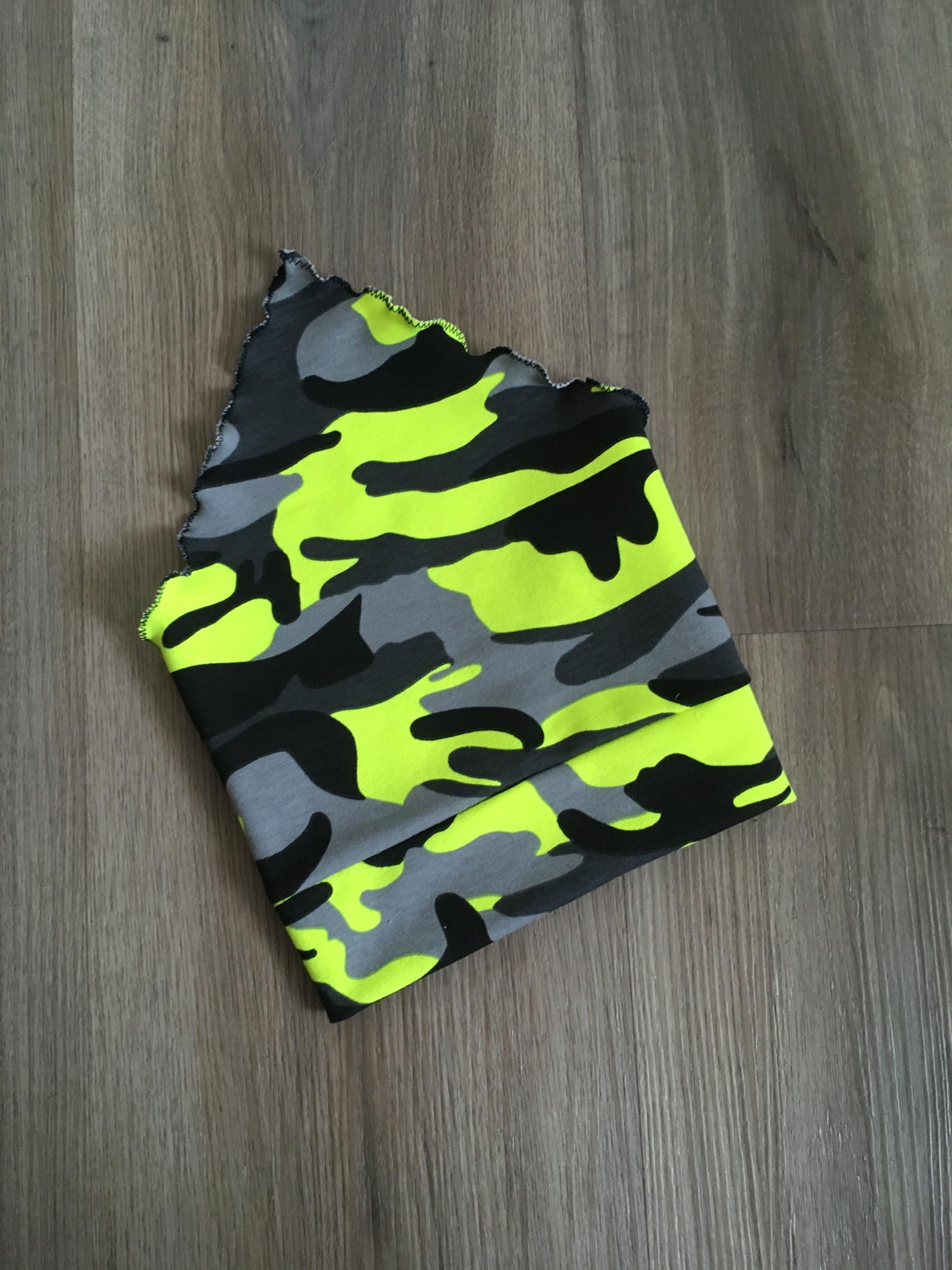 aa0f0fdd8 Šátek na hlavu - neon žlutý maskáč / Zboží prodejce BA-MI | Fler.cz