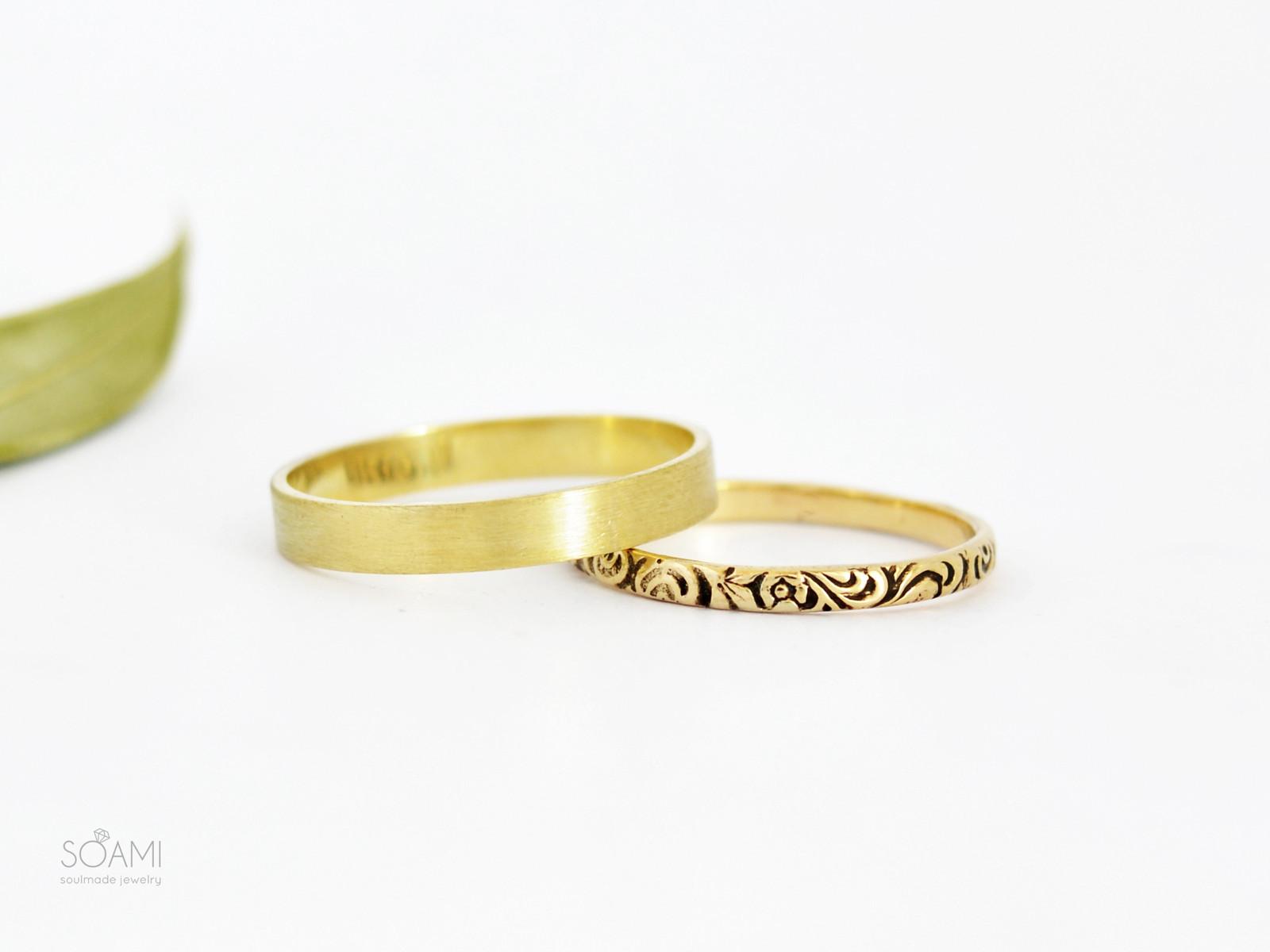 14k Zlate Snubni Prsteny Obroucky Zlute Zlato Zbozi Prodejce