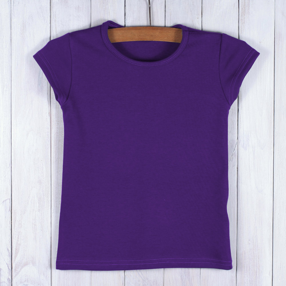 fba327c81a7f Dívčí tričko fialové