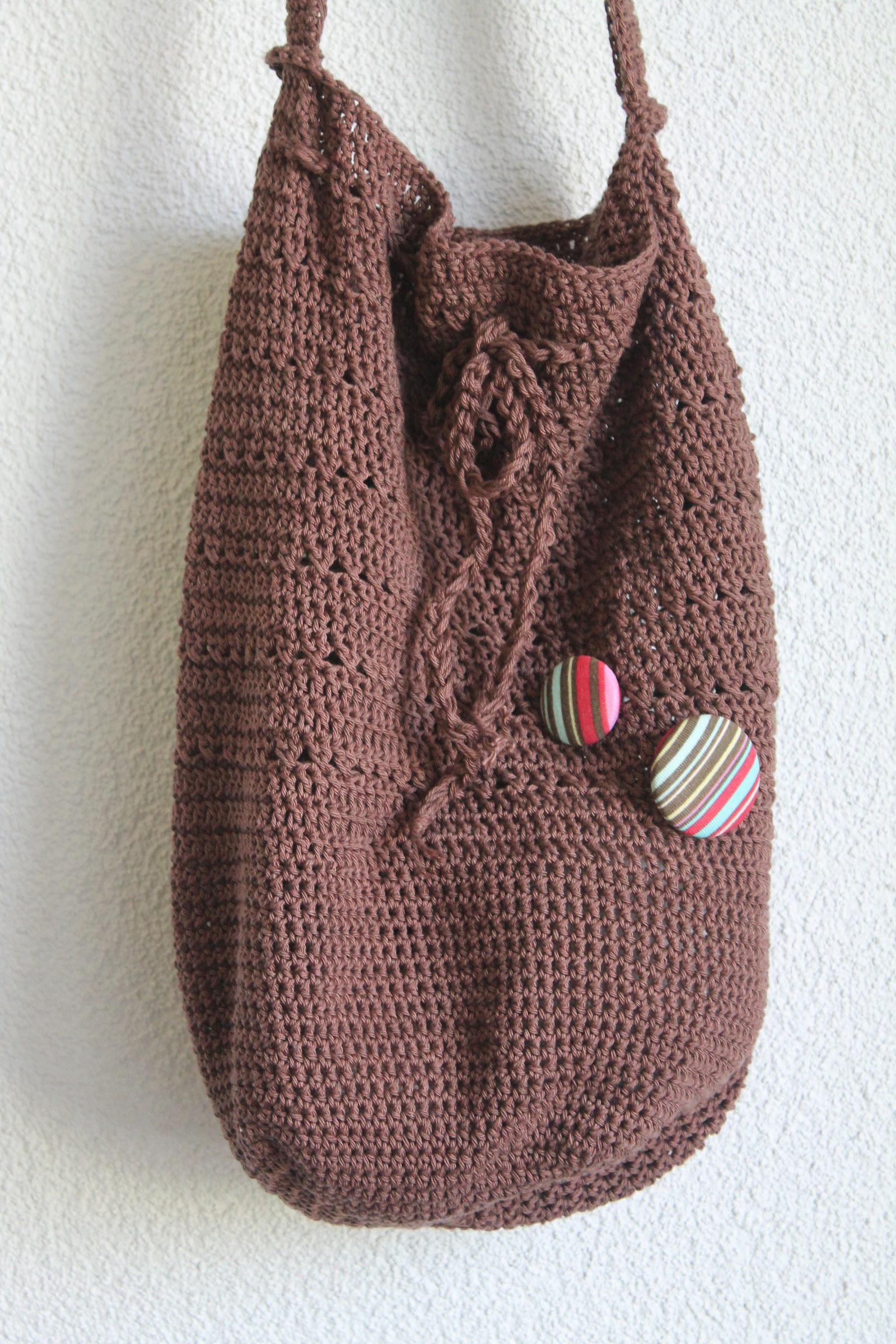 Háčkovaná kabelka   Zboží prodejce moniqque  070053bbf47