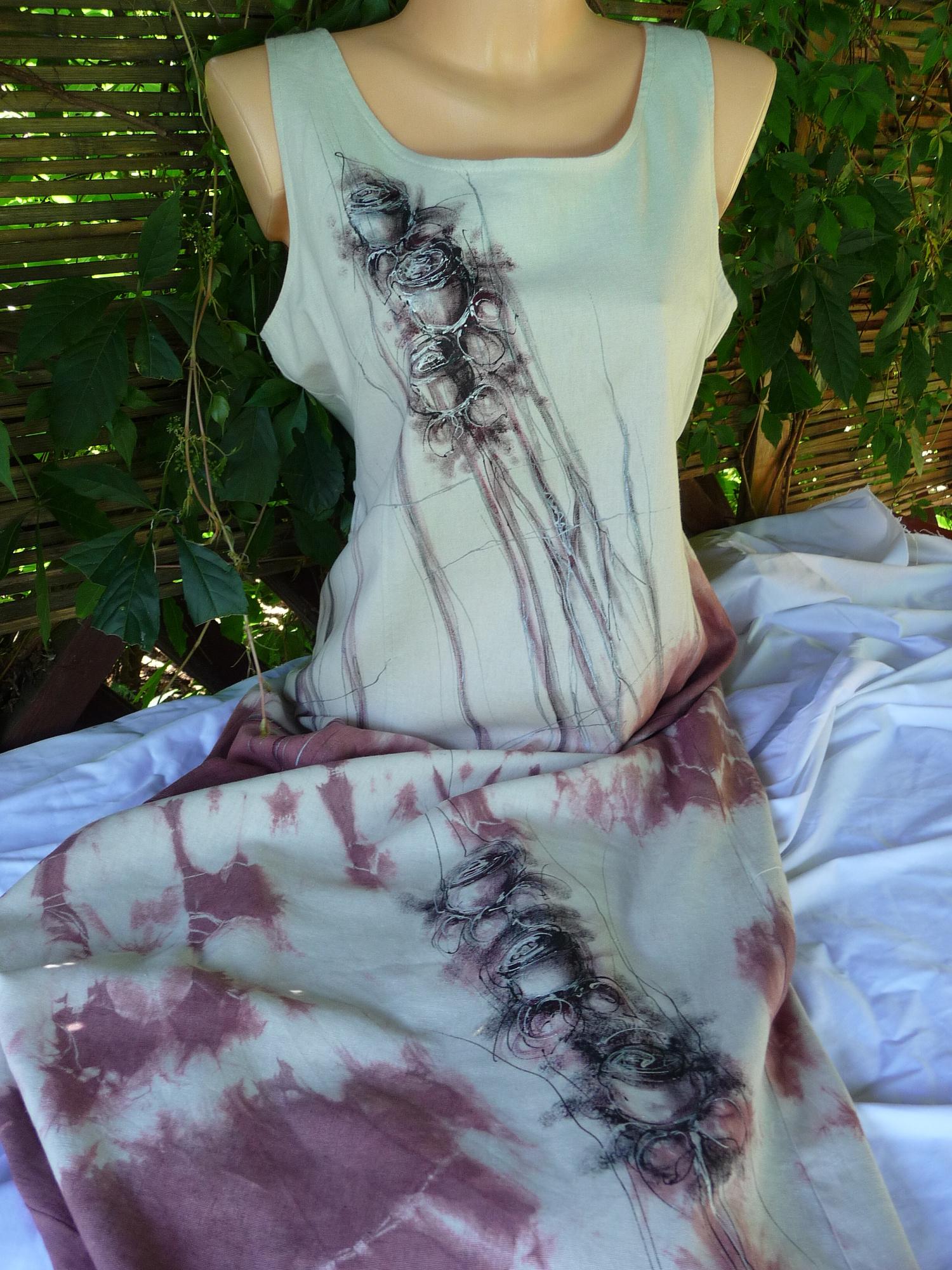 Lněné šaty  a04e7bbc39