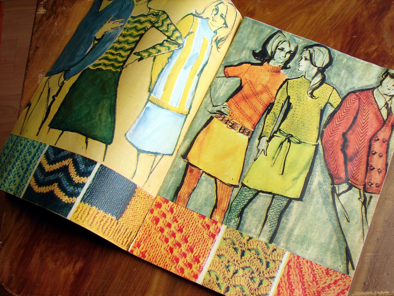 164d515f376 Příručka časopisu Žena a móda č. 4 1967   Zboží prodejce Holky a já ...