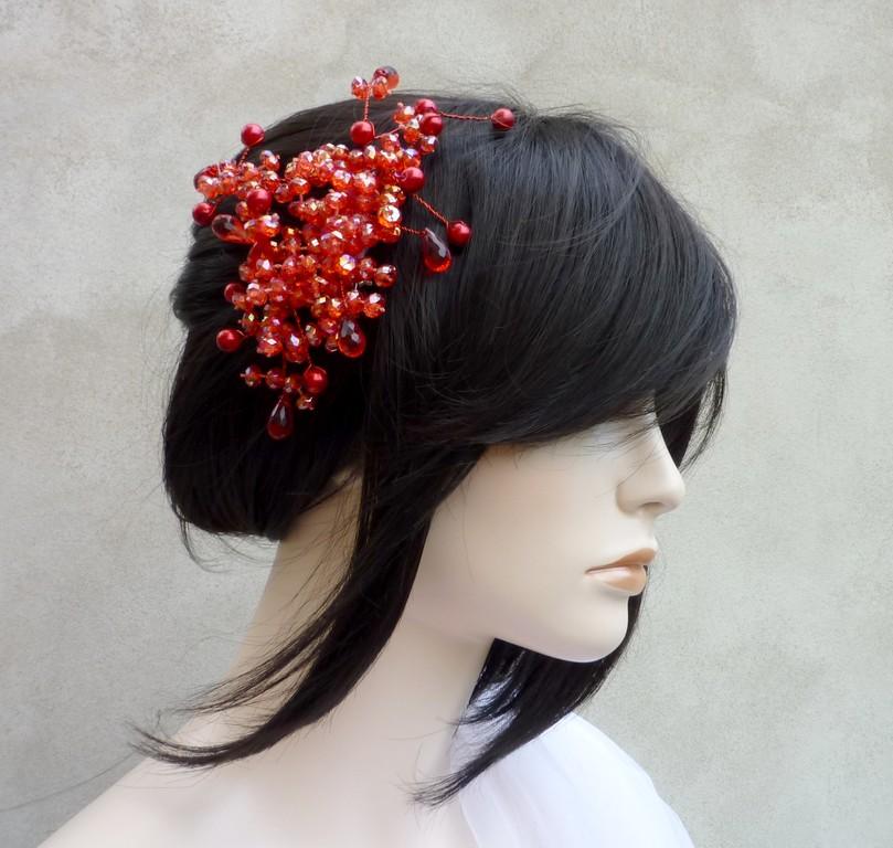 Svatební spona do vlasů Diana   Zboží prodejce kultdesign  b540ab9426